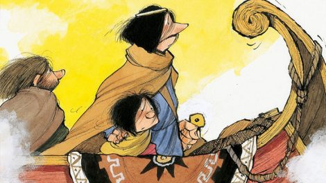L'Eneide e la Bibbia raccontata ai bambini