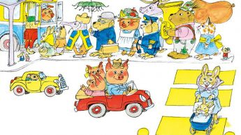 I libri di Richard Scarry, storie amate da generazioni di bambini