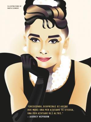 4 - Audrey Hepburn