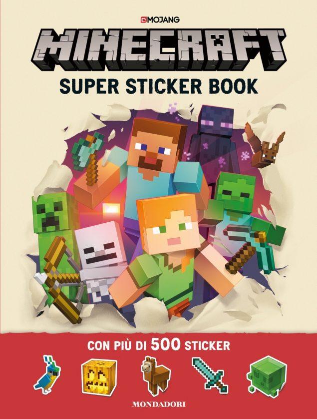 Minecraft - Super Sticker Book