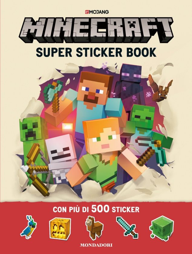 Minecraft - Super Sticker Book