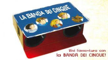 Il binocolo de La Banda dei Cinque vi aspetta in libreria!