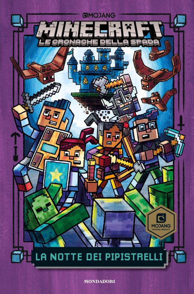 Minecraft. Le cronache della spada - 2. La notte dei pipistrelli