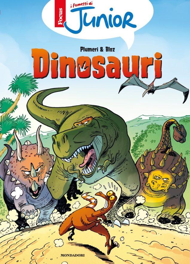 I fumetti di Focus Junior - Dinosauri