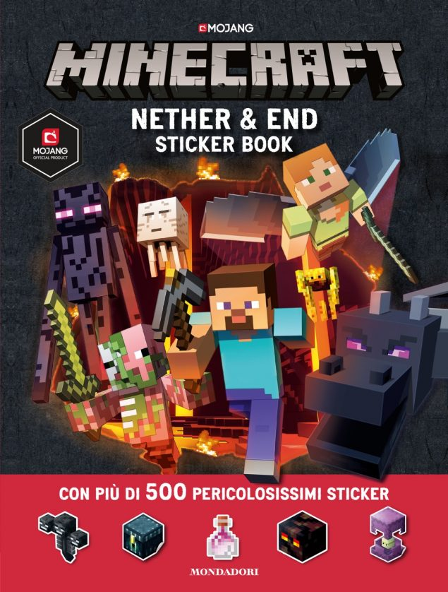 Minecraft. End & Nether sticker book