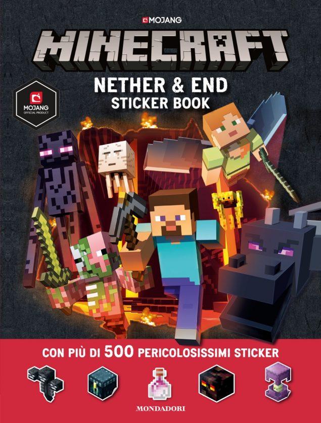 Minecraft. End & Nether sticker book