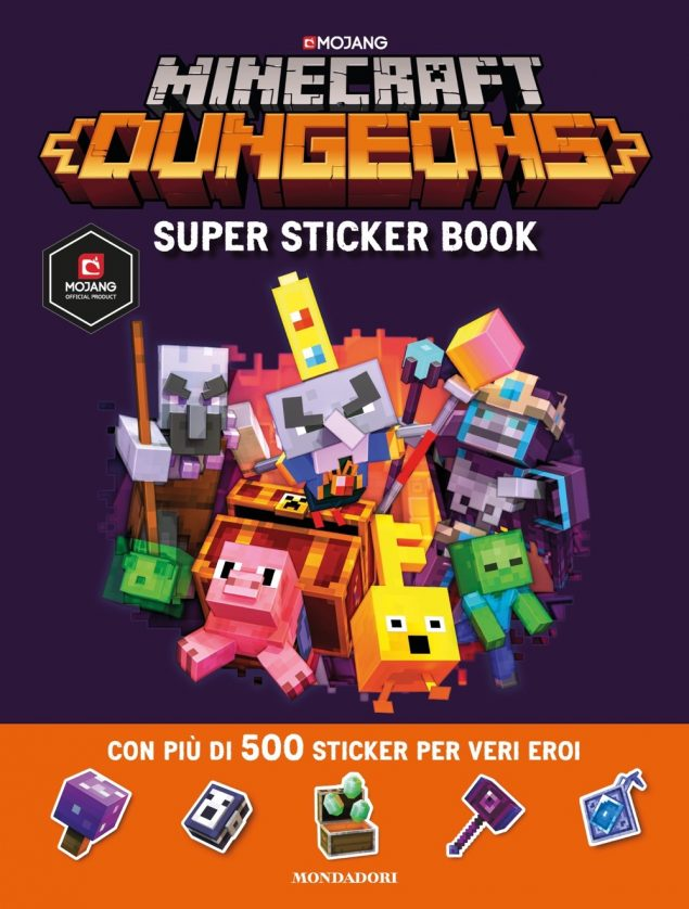 Minecraft. Super sticker book Dungeons