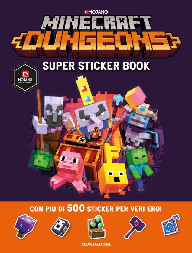 Minecraft. Super sticker book Dungeons