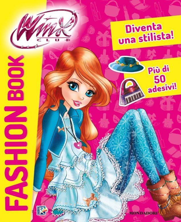 Winx Club Fashion book. Con adesivi