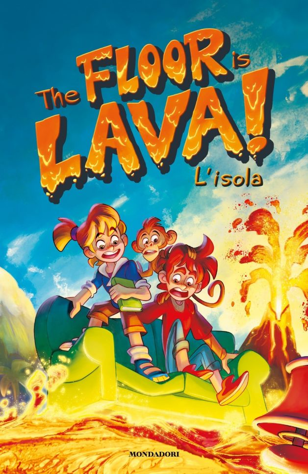 The floor is lava! L'isola