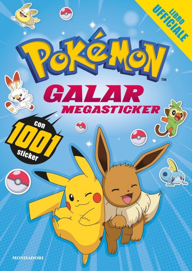 Pokémon. Galar Megasticker. Con 1001 sticker
